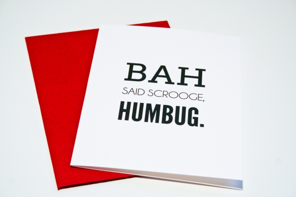 Bah Humbug by Hitchcock Creative