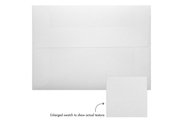 White Pique Envelopes from envelopes.com